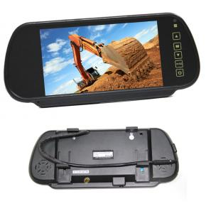 7 Inch Clip on Mirror Monitor