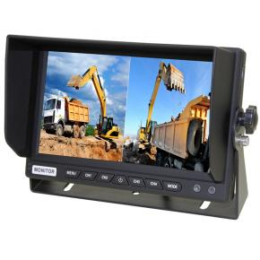 7 inch tft lcd quad monitor