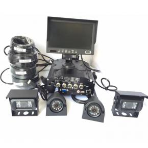 7 Inch HDD Mobile DVR System