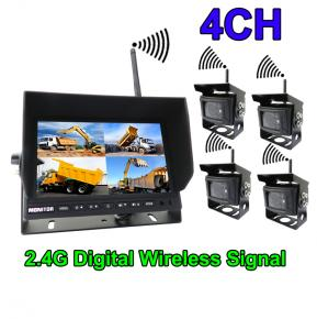 7 inches digital wireless backup camera system