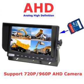 7 Inch AHD Car Quad DVR Monitor