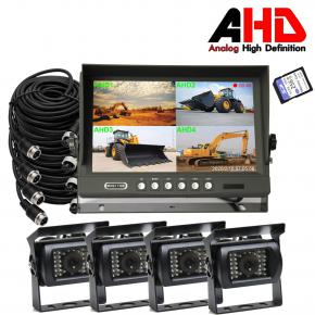 9 Inch Commercial Vehicle Rear View AHD DVR Monitor System