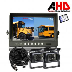 9 Inch AHD Car Backup System with DVR