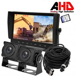 10.1 Inch AHD Two Camera Dual Split Monitor Kits