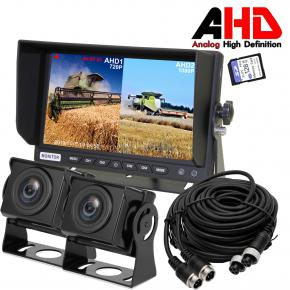 FARMING 7Inch SPLIT TWO WATERPROOF CAMERA CABLED KIT