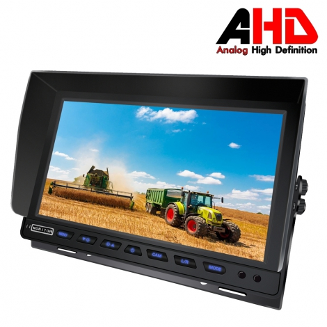 10.1 inch AHD 1080P Car Monitor with IPS Screen